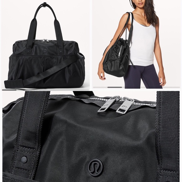 f930976c63 lululemon athletica Bags | Nwt Lululemon All Day Duffel Heat | Poshmark